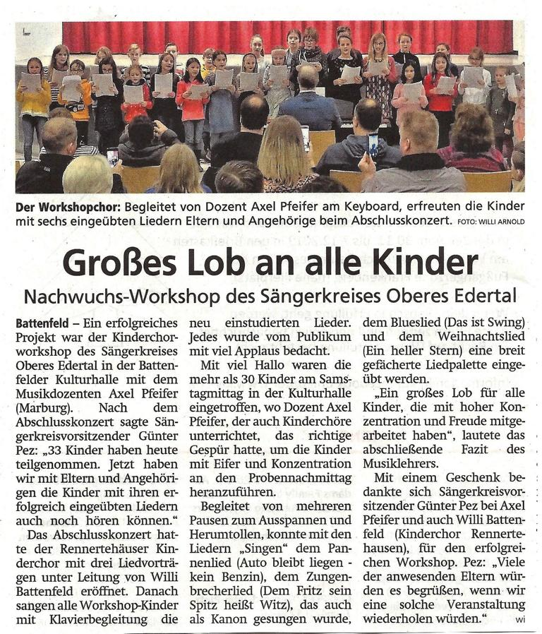 K1024 Kinderchor Workshop 2019